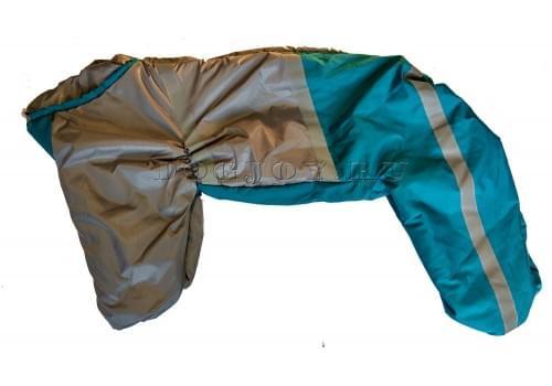 Комбинезон Грейдог утепленный на синтепоне для собак породы лабрадор, ретривер, далматин, боксер, доберман, кане корсо, колли, овчарка, риджбек, хаска