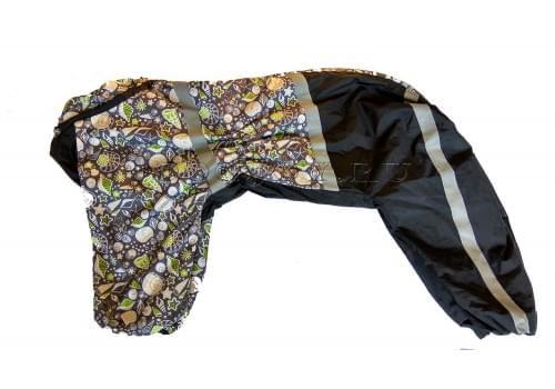 Дождевик Дары моря осенний для собак породы лабрадор, ретривер, далматин, боксер, доберман, кане корсо, колли, овчарка, риджбек, хаска