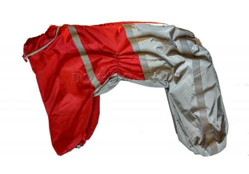 Дождевик SuperRain непромокаемый для собак породы лабрадор, ретривер, далматин, боксер, доберман, кане корсо, колли, овчарка, риджбек, хаска
