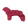 Комбинезон Bordoday утепленный на синтепоне с капюшоном для собак породы бигль, шарпей, чау-чау, кокер спаниель