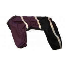 Дождевик Black Lilac 4 непромокаемый для собак