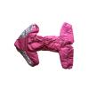 Комбинезон Розочка утепленный на синтепоне для собак породы амстафф, бультерьер, некрупный далматин, шарпей, колли
