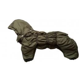 Комбинезон Greenday утепленный на синтепоне с капюшоном для собак