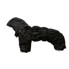 Комбинезон BlackCarry зимний на синтепоне и флисе с капюшоном для собак