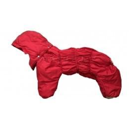 Комбинезон Lesy зимний на синтепоне и флисе с капюшоном для собак