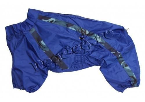 Дождевик Океан непромокаемый для собак породы амстафф, бультерьер, шарпей, колли, далматин
