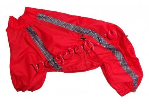 Дождевик Чили непромокаемый для собак породы амстафф, бультерьер, шарпей, колли, далматин