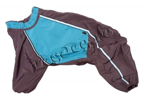 Дождевик Волна непромокаемый для собак породы амстафф, бультерьер, шарпей, колли, далматин