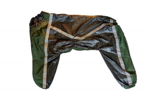Дождевик Greencub непромокаемый для собак породы лабрадор, ретривер, далматин, боксер, доберман, кане корсо, колли, овчарка, риджбек, хаска