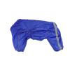 Комбинезон Синий утепленный на синтепоне для собак породы амстафф, бультерьер, шарпей, колли