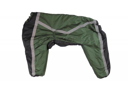 Комбинезон Greendoggy утепленный на синтепоне для собак породы лабрадор, ретривер, далматин, боксер, доберман, кане корсо, колли, овчарка, риджбек, хаска