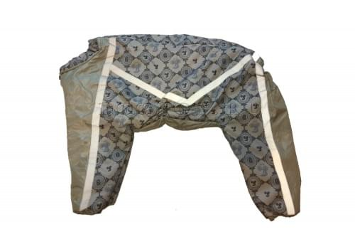 Комбинезон Золотой компас утепленный на синтепоне для собак породы лабрадор, ретривер, далматин, боксер, доберман, кане корсо, колли, овчарка, риджбек, хаска