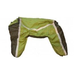 Комбинезон Light Green утепленный на синтепоне для собак