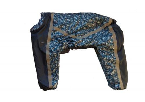 Комбинезон Volna утепленный на синтепоне для собак породы лабрадор, ретривер, далматин, боксер, доберман, кане корсо, колли, овчарка, риджбек, хаска