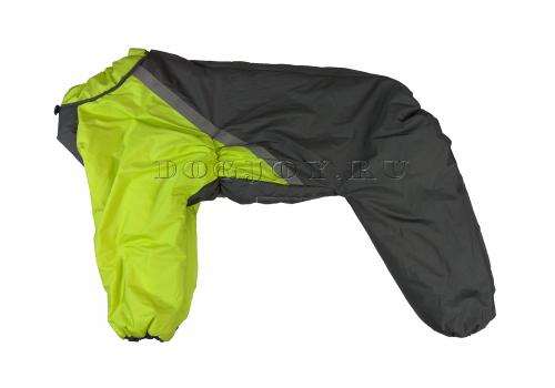 Комбинезон Deep Green утепленный на синтепоне для собак породы лабрадор, ретривер, далматин, боксер, доберман, кане корсо, колли, овчарка, риджбек, хаска