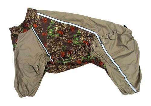 Дождевик FunGirl-2 непромокаемый для собак породы лабрадор, ретривер, далматин, боксер, доберман, кане корсо, колли, овчарка, риджбек, хаска