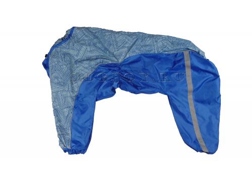 Дождевик Lucky 2 непромокаемый для собак породы лабрадор, ретривер, далматин, боксер, доберман, кане корсо, колли, овчарка, риджбек, хаска