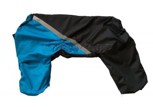 Дождевик Deep 2 непромокаемый для собак породы лабрадор, ретривер, далматин, боксер, доберман, кане корсо, колли, овчарка, риджбек, хаска
