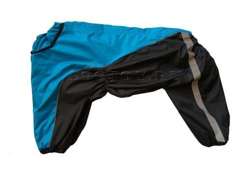 Дождевик Deep непромокаемый для собак породы лабрадор, ретривер, далматин, боксер, доберман, кане корсо, колли, овчарка, риджбек, хаска