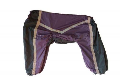 Дождевик Viol непромокаемый для собак породы лабрадор, ретривер, далматин, боксер, доберман, кане корсо, колли, овчарка, риджбек, хаска