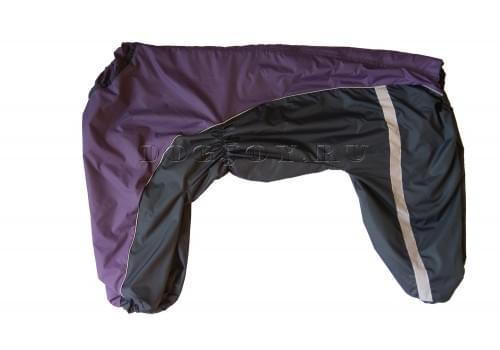 Дождевик Viol 2 непромокаемый для собак породы лабрадор, ретривер, далматин, боксер, доберман, кане корсо, колли, овчарка, риджбек, хаска