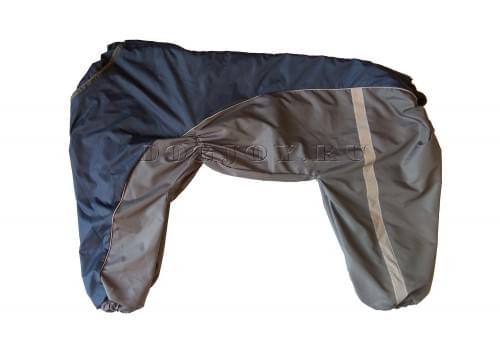 Дождевик Дождик 2 осенний для собак породы лабрадор, ретривер, далматин, боксер, доберман, кане корсо, колли, овчарка, риджбек, хаска